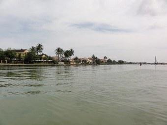 1.3-La rivière Thu Bon à Hoi An