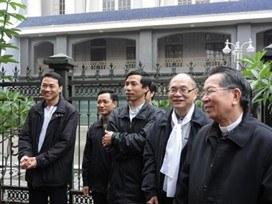 5.3- Avec les séminaristes de Thai Binh