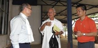5.6-Rencontre avec le recteur du sanctuaire de La Vang