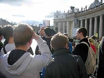 2638.Un séminariste de Rome, Arnaud, nous explique la construction de la Basilique Saint Pierre