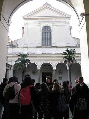 2681. Visite guidée de la Basilique St Clément, par un séminariste Français de Rome