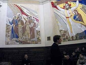 2779.Puis visite du Séminaire Français de Rome, par Martin Pinet, séminariste