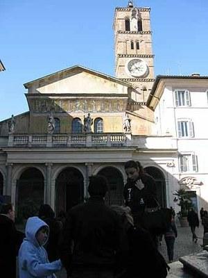 2838. Eglise Santa Maria du Trastaevere