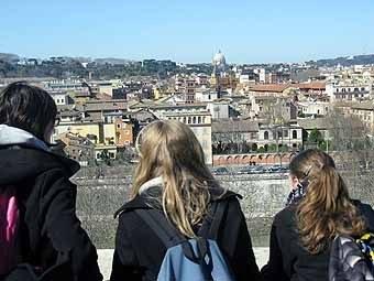 2854. Vue sur Rome